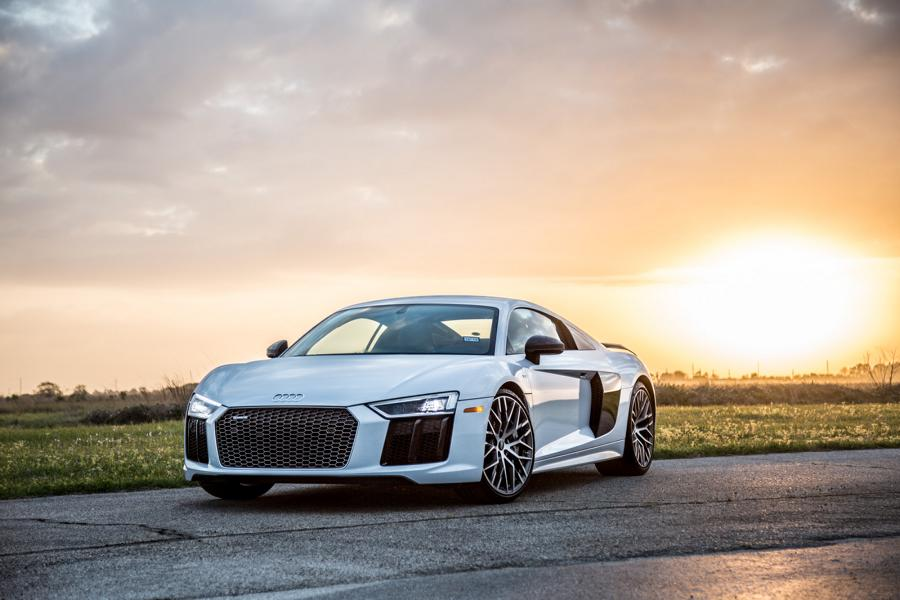 Hennessey Performance Audi R8 V10 Twin Turbo 1 Brutal: Hennessey Performance HPE900 Audi R8 V10 Twin Turbo!