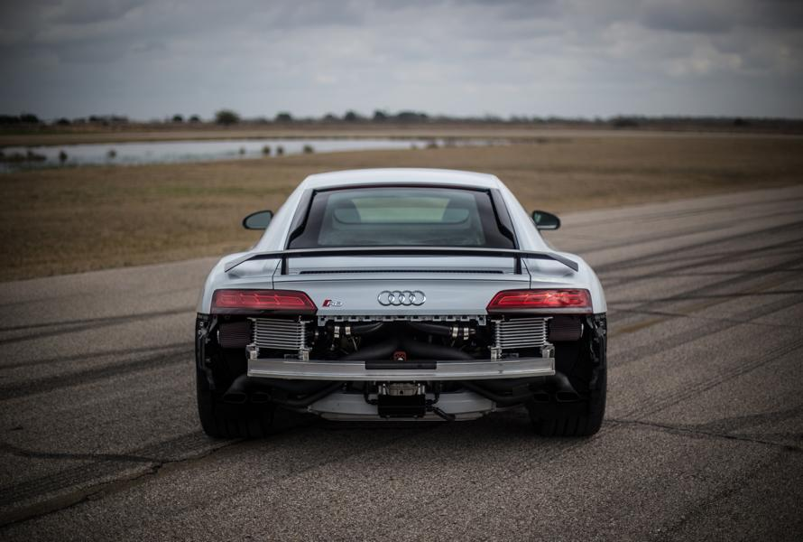 Hennessey Performance Audi R8 V10 Twin Turbo 4 Brutal: Hennessey Performance HPE900 Audi R8 V10 Twin Turbo!