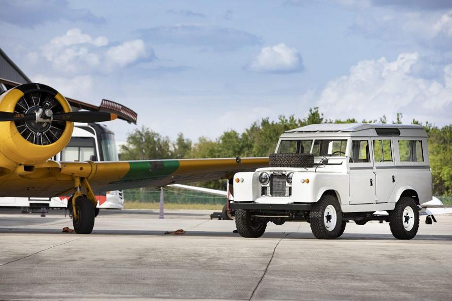 Land Rover Series IIA Project Henry ECD V8 Tuning 3 Klassiker mit richtig Dampf   Land Rover Series IIA Project Henry