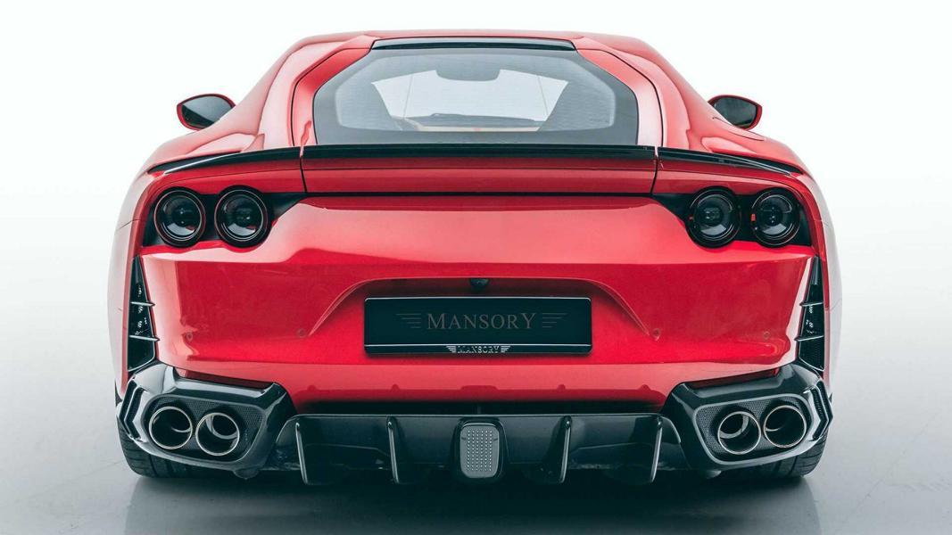 Mansory Softkit Ferrari 812 Superfast Bodykit Tuning 8 Mansory Softkit am Ferrari 812 Superfast mit V12 Power