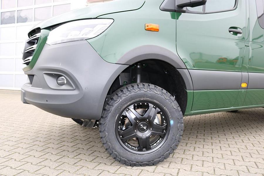 Mercedes Sprinter Offroad Outfit VANSPORTS Tuning 2 Mercedes Sprinter mit Offroad Outfit von VANSPORTS
