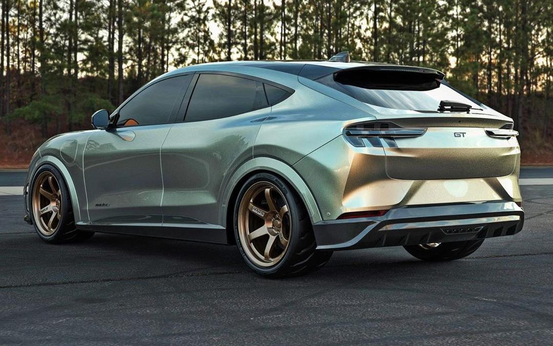 Mustang Mach E GT Widebody Shorty Tuning Abimelec 7 Mustang Mach E GT Widebody Shorty   warum nicht?