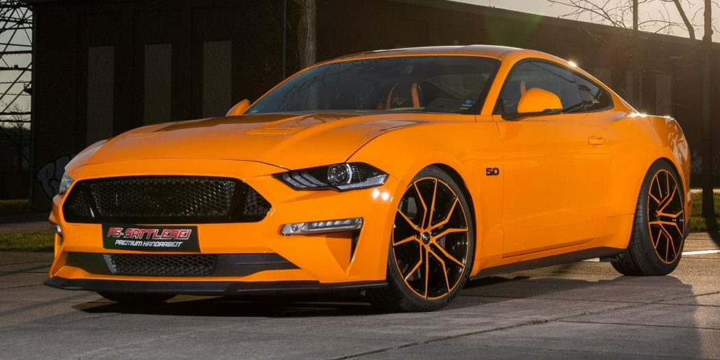 PS Sattlerei Ford Mustang GT Fury orange Tuning 9 1050x525 Luxus Interieur & 725 PS! PS Sattlerei Ford Mustang GT!