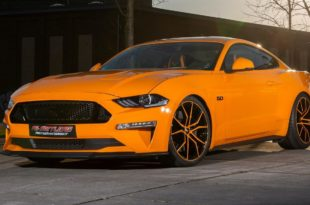 PS Sattlerei Ford Mustang GT Fury orange Tuning 9 310x205 Luxus Interieur & 725 PS! PS Sattlerei Ford Mustang GT!