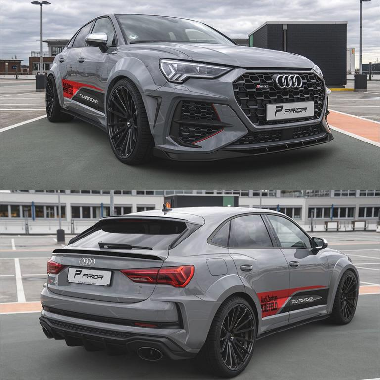 Prior Design Audi RSQ3 Widebody Kit 22 Zoll Tuning 1 Prior Design Audi RSQ3 mit PD RS400 Widebody Kit & 22 Zöllern