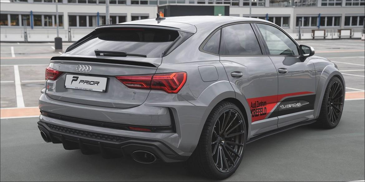 Prior Design Audi RSQ3 Widebody Kit 22 Zoll Tuning 3 Prior Design Audi RSQ3 mit PD RS400 Widebody Kit & 22 Zöllern