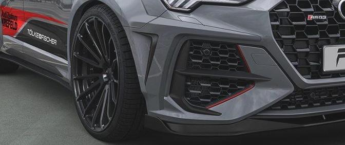 Prior Design Audi RSQ3 Widebody Kit 22 Zoll Tuning 7 Prior Design Audi RSQ3 mit PD RS400 Widebody Kit & 22 Zöllern