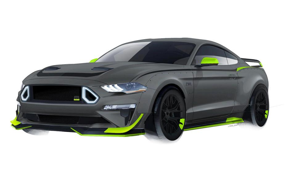 RTR Vehicles 2020 Ford Mustang GT Spec 5 Tuning Widebody 1 RTR Vehicles: 2020 Ford Mustang GT mit 750 PS in Planung!