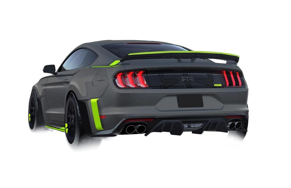 RTR Vehicles 2020 Ford Mustang GT Spec 5 Tuning Widebody 2 RTR Vehicles: 2020 Ford Mustang GT mit 750 PS in Planung!