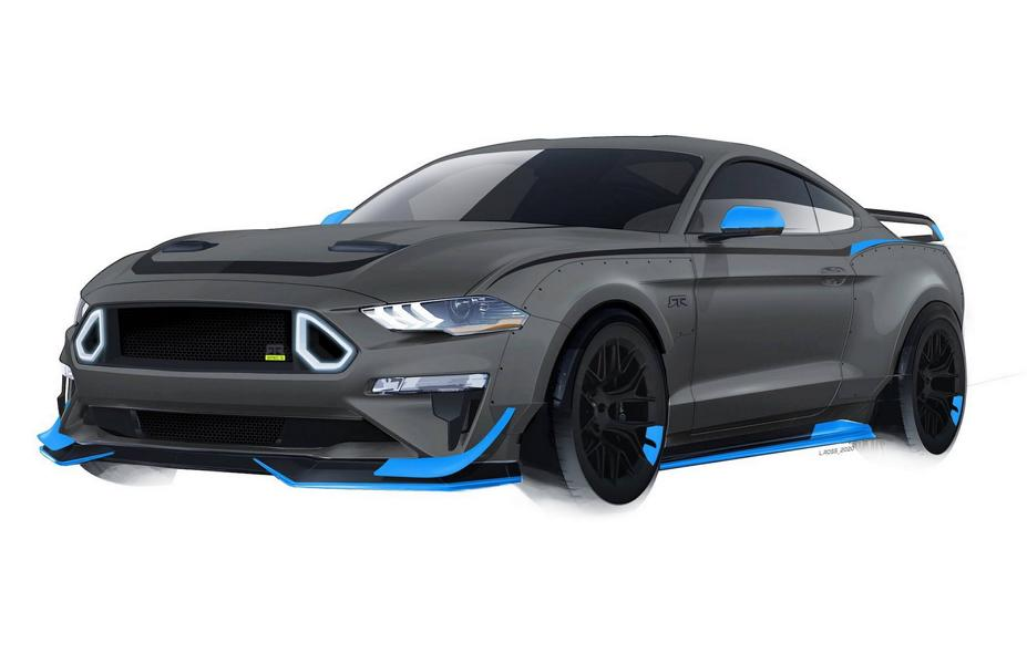 RTR Vehicles 2020 Ford Mustang GT Spec 5 Tuning Widebody 3 RTR Vehicles: 2020 Ford Mustang GT mit 750 PS in Planung!