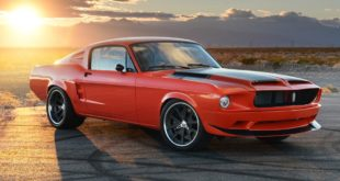 The Villain 1968er Ford Mustang Fastback V8 Restomod Header 310x165 The Villain   1968er Ford Mustang Fastback mit 450 PS