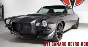 Timeless Kustoms 1971er Chevrolet Camaro Restomod LS9 V8 Header 310x165 1974 Pontiac Firebird Restomod mit Corvette V8 Motor!