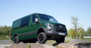 W970 Mercedes Sprinter Offroad Outfit VANSPORTS Tuning 2 310x165 Mercedes Sprinter mit Offroad Outfit von VANSPORTS