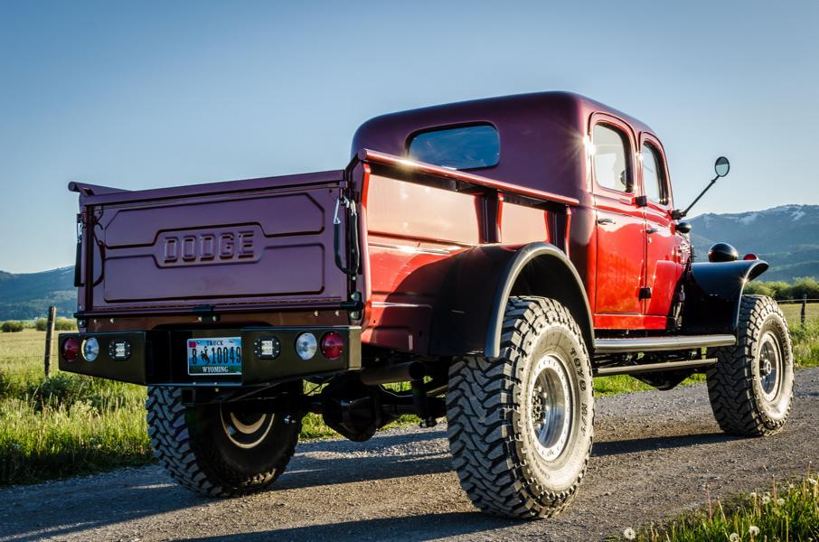 1949 Dodge Power Wagon Restomod Diesel Tuning 4 1949 Dodge Power Wagon Restomod mit Diesel Power
