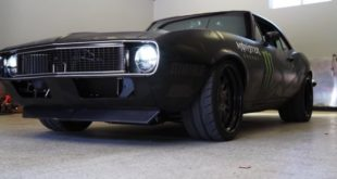 Video: 1967er Chevrolet Camaro mit LS V8 Triebwerk!