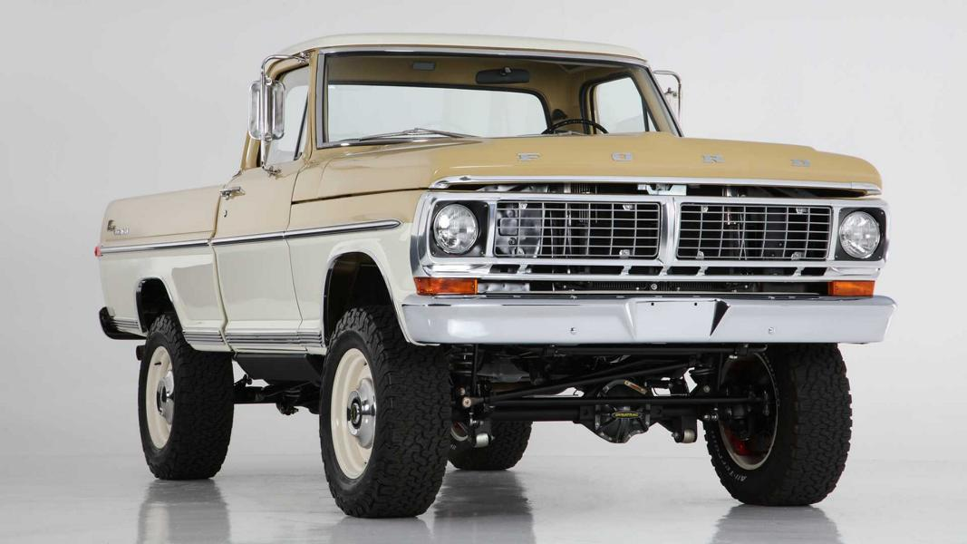 1970 Ford F 100 Icon Reformer V8 Tuning 29 1970 Ford F 100 als Icon Reformer mit 430 PS V8 Power!