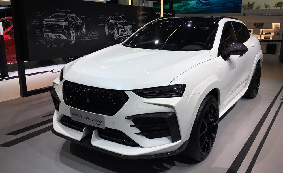 2020 WEY VV7 GT SUV Brabus Tuning Widebody 1 2020 WEY VV7 GT SUV aus China mit Brabus Tuning Parts
