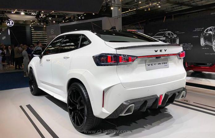 2020 WEY VV7 GT SUV Brabus Tuning Widebody 8 2020 WEY VV7 GT SUV aus China mit Brabus Tuning Parts