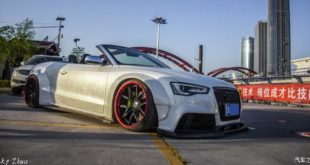 Audi A5 Cabriolet Widebody Kit Rotiform Header 310x165 Unicorn Widebody Ford Mustang Cabrio mit 700 PS!