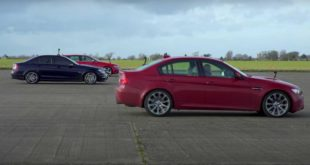 Audi RS4 Avant vs. BMW M3 Mercedes C63 AMG 310x165 Video: Audi RS4 Avant vs. BMW M3 & Mercedes C63 AMG