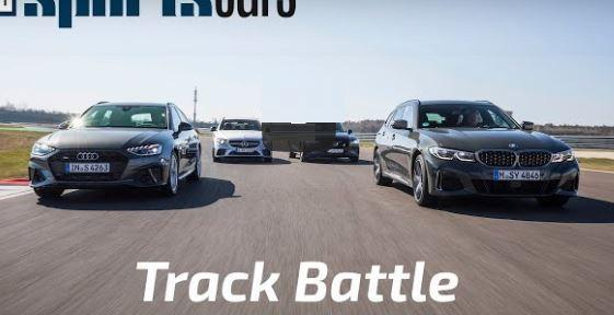 BMW M340i Touring Audi S4 Avant Mercedes C43 AMG T Model Video: Track Battle   BMW M340i Touring, Audi S4 Avant, Mercedes C43 AMG T Model