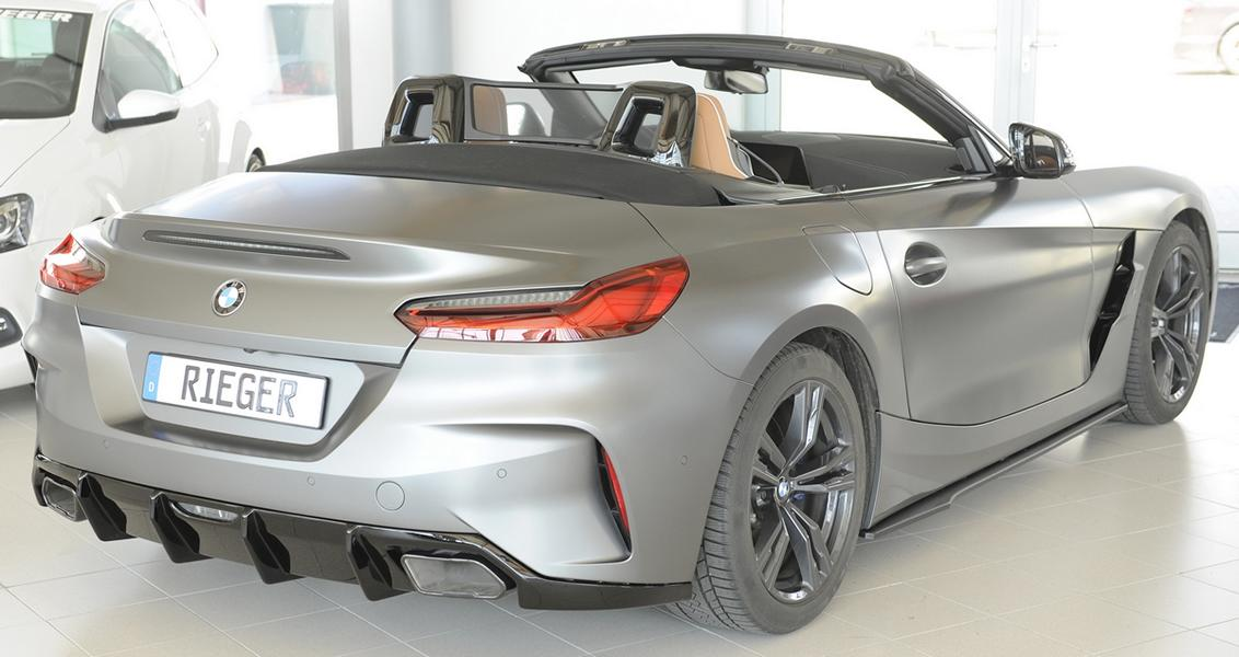 BMW Z4 G29 Rieger Tuning Parts 8 Dezenter M Style: BMW Z4 (G29) mit Rieger Tuning Parts