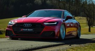 Bagged Audi A7 Sportback Rotiform BUC Airride Header 310x165 Video: BiTurbo Corvette C8 von Extreme Turbo Systems!