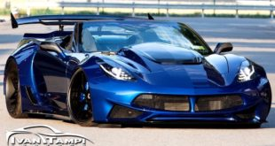 Corvette C7 mit Limited Edition XIK Widebody Kit 4 310x165 Limited Edition XIK Widebody Kit an der Corvette C7