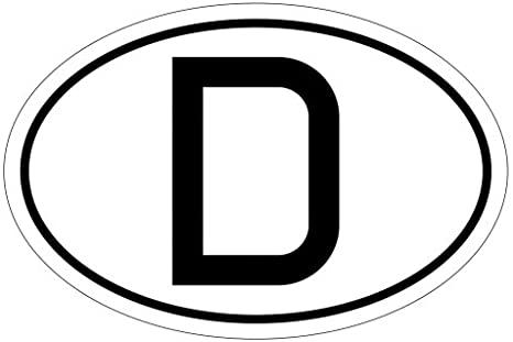 Deutschland Länderkennzeichen Autoaufkleber Aufkleber am Auto   nur ein Relikt aus alten Zeiten?