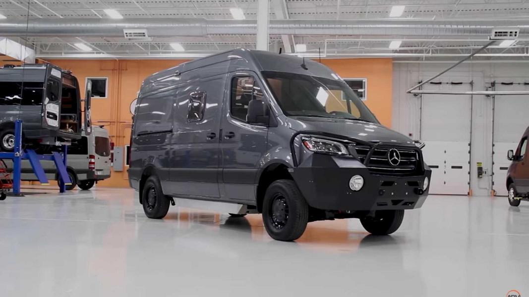 Extrem Offroad Camping Advanced RV Sprinter Extrem Offroad Camping mit dem Advanced RV Sprinter