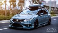Honda Jade Stance Tuning Airride VSXX rims 1 190x107 Honda Jade with Stance Tuning a minivan can be so cool.