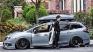 Honda Jade Stance Tuning Airride VSXX rims 15 190x107 Honda Jade with Stance Tuning a minivan can be so cool.