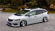 Honda Jade Stance Tuning Airride VSXX rims 27 190x107 Honda Jade with Stance Tuning a minivan can be so cool.