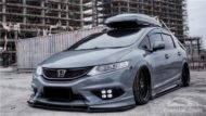 Honda Jade Stance Tuning Airride VSXX rims 5 190x107 Honda Jade with Stance Tuning a minivan can be so cool.