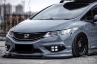 Honda Jade Stance Tuning Airride VSXX rims 6 190x127 Honda Jade with Stance Tuning a minivan can be so cool.