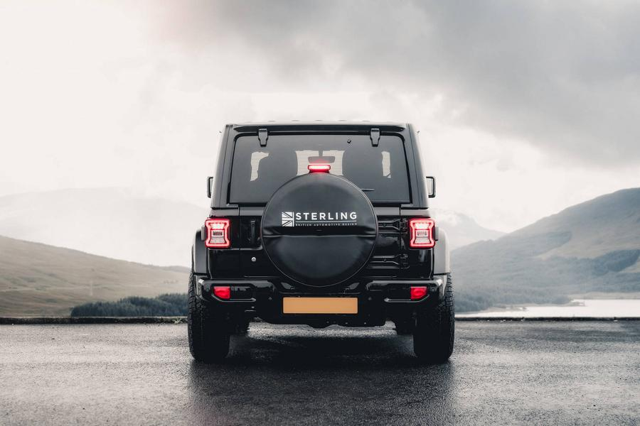 Jeep Wrangler Launch Edition Sterling Automotive Tuning 6 Dezent: Jeep Wrangler Launch Edition von Sterling Automotive