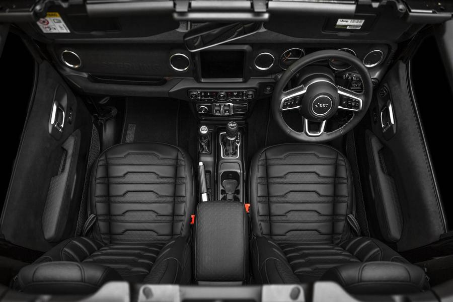 Jeep Wrangler Launch Edition Sterling Automotive Tuning 8 Dezent: Jeep Wrangler Launch Edition von Sterling Automotive
