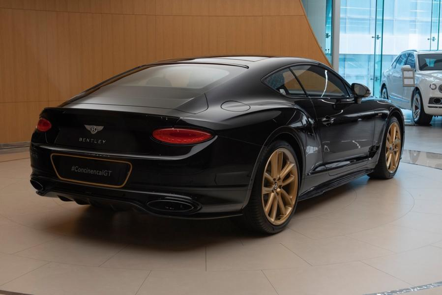 Limited Bentley Continental GT Aurum Tuning Mulliner 2 Noch exclusiver   Bentley Continental GT Aurum von Mulliner