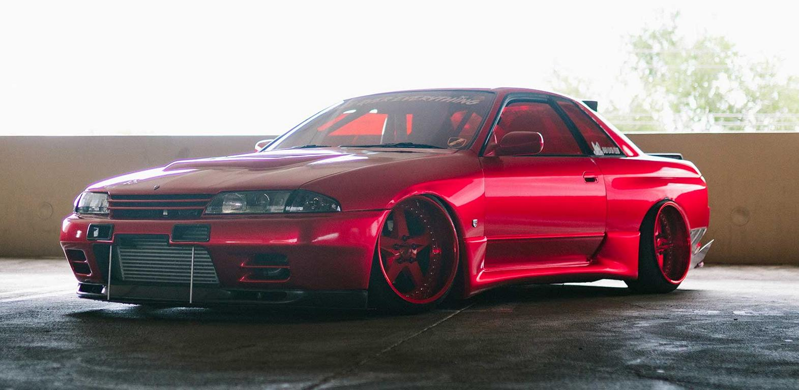 Nissan Skyline Gt R R32 With 800 Ps And All Wheel Drive Godzilla S Great Grandfather With Bear Powers