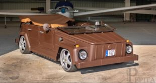 Pepita VW bucket leather body tuning header 310x165 leather bucket Crazy VW bucket in brown leather dress!