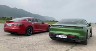 Porsche Taycan Turbo S vs Tesla Model S P100D 310x165 Video: Porsche Taycan Turbo S vs Tesla Model S P100D