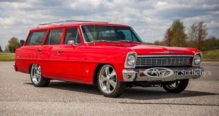 Restomod 1966 Chevrolet II Wagon Tuning Header 310x165 Restomod: 1966 Chevrolet II Wagon (Nova) auf Chromfelgen!