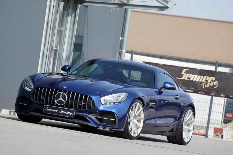 Senner Tuning Mercedes AMG GT C190 Tuning 4 632 PS und 21 Zöller am Senner Tuning Mercedes AMG GT