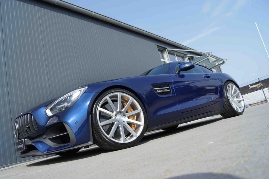 Senner Tuning Mercedes AMG GT C190 Tuning 5 632 PS und 21 Zöller am Senner Tuning Mercedes AMG GT