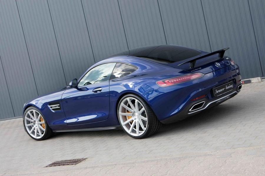 Senner Tuning Mercedes AMG GT C190 Tuning 6 632 PS und 21 Zöller am Senner Tuning Mercedes AMG GT