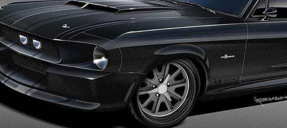 Shelby GT500CR Vollcarbon Karosserie Classic Recreations Speedkore Tuning 4 Shelby GT500CR Vollcarbon Karosserie von Classic Recreations