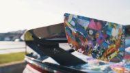 Skepple Comic Folierung Acura NSX Sportler 4 190x107 Video: Verrückte Comic Folierung am Acura NSX Sportler!