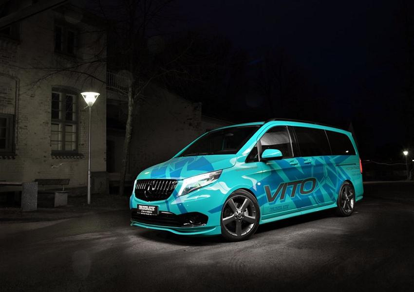 VANSPORTS.de Tuning Mercedes Benz Vito VP Spirit 1 Auffällig   VANSPORTS.de Tuning am Mercedes Benz Vito