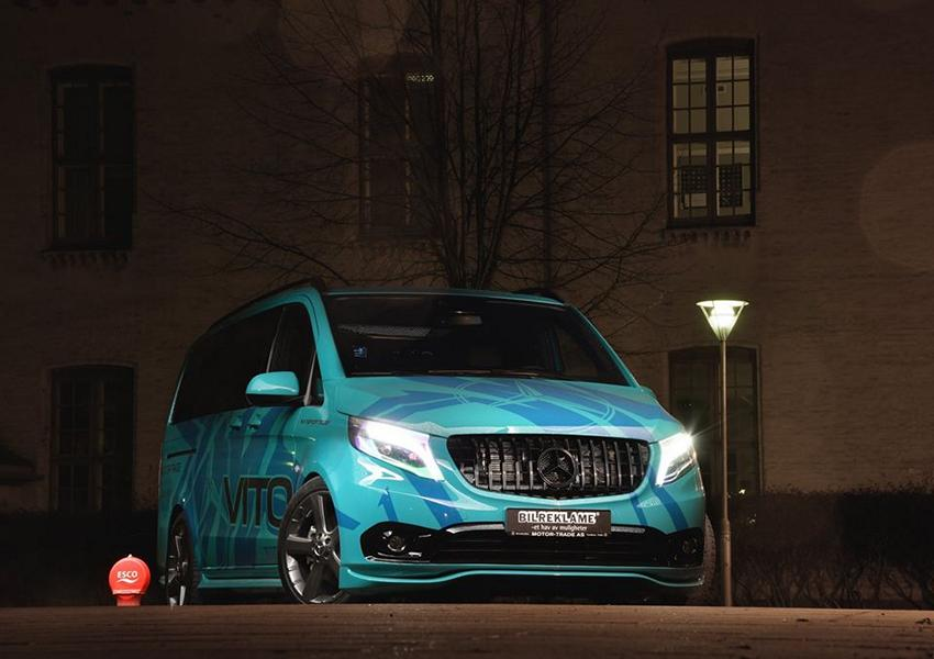 VANSPORTS.de Tuning Mercedes Benz Vito VP Spirit 5 Auffällig   VANSPORTS.de Tuning am Mercedes Benz Vito