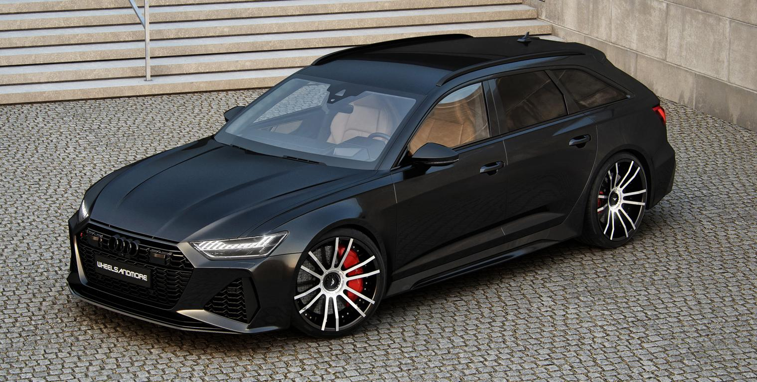 "Wheelsandmore Audi RS6 ""@TENTENSION"" Tuning Header Wheelsandmore Audi RS6 ""@TENTENSION"" mit 1.010 PS!"